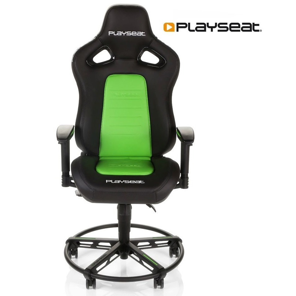 Merveilleux Playseat L33T Gaming Chair   Green   Gaming Furniture   Good Stuff   Buy  Online At Geekay Games UAE