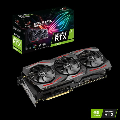 Asus VGA ROG Strix GeForce RTX 2080 Ti OC edition 11GB GDDR6