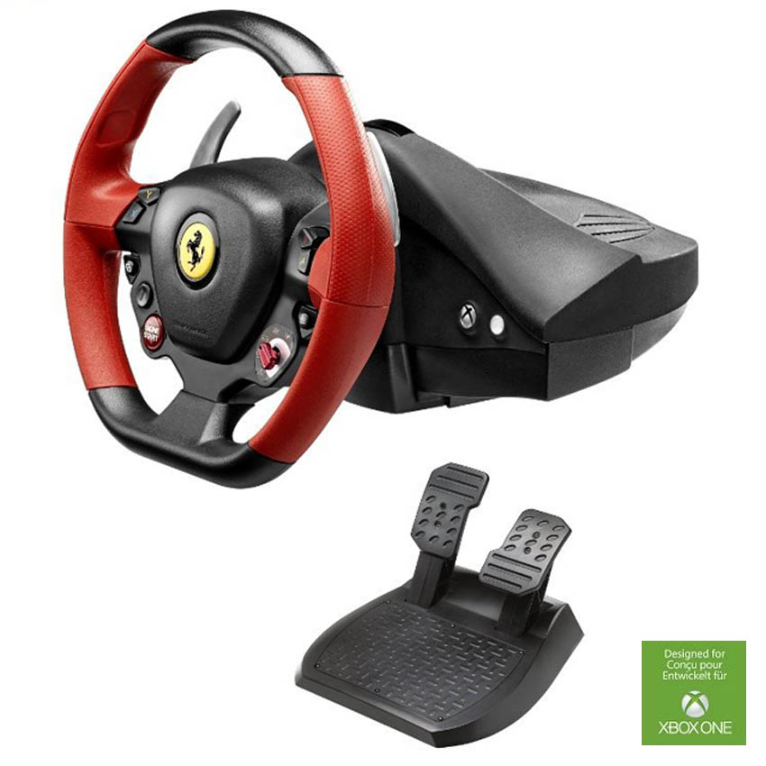 Thrustmaster Ferrari 458 Spider Racing Wheel for Xbox One ...