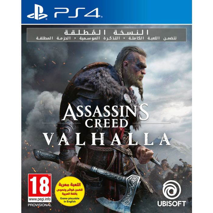 Buy Assassin S Creed Valhalla Ultimate Edition Ps4 Online In Dubai