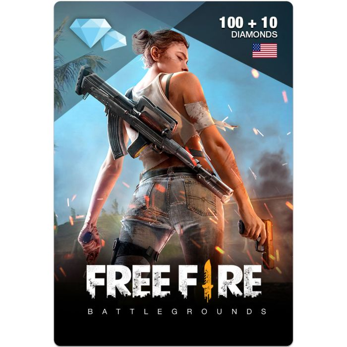 Buy Free Fire Diamond Pins 100 10 Us Instant Delivery Online In Dubai Abu Dhabi And All Uae