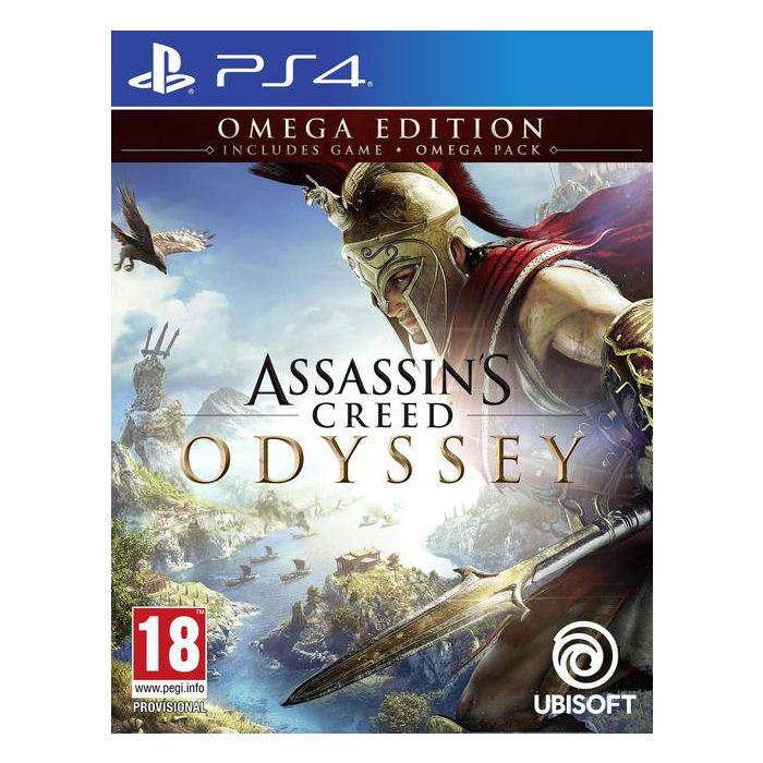 Buy Assassin S Creed Odyssey Omega Edition Ps4 Online In Dubai